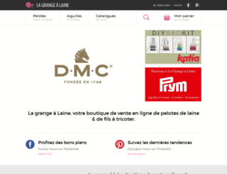 la-grange-a-laine.fr screenshot