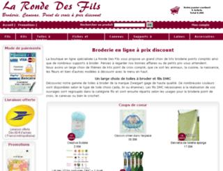 la-ronde-des-fils.fr screenshot