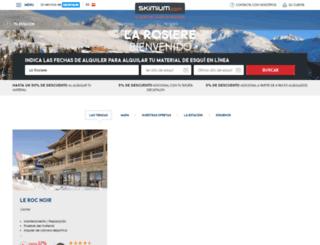 la-rosiere.skimium.es screenshot
