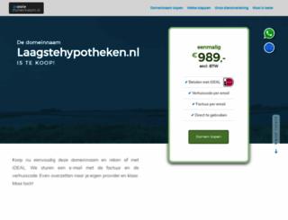 laagstehypotheken.nl screenshot