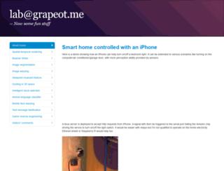 lab.grapeot.me screenshot