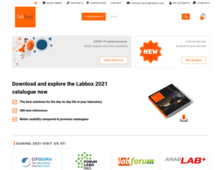 labbox.com screenshot