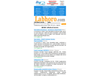 labhoro.com screenshot