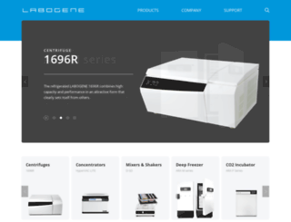 labogene.co.kr screenshot