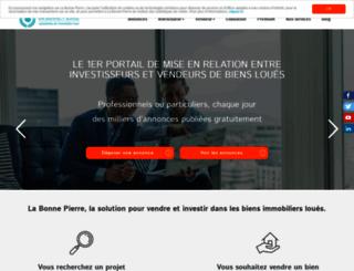 labonnepierre.com screenshot