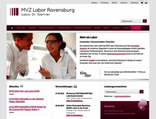 labor-gaertner.de screenshot
