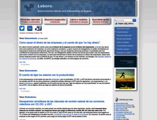 laboro-spain.blogspot.ie screenshot