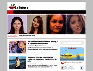 labotana.com screenshot