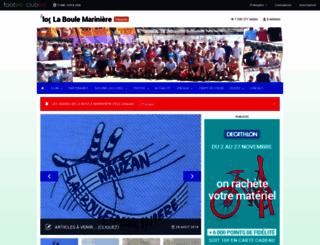 laboulemariniere.clubeo.com screenshot