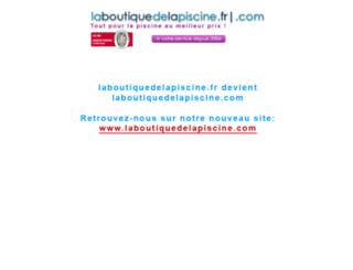 laboutiquedelapiscine.fr screenshot