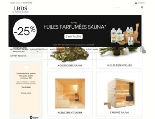 laboutiquedusauna.com screenshot