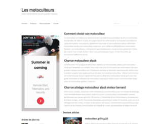 laboutiquemotoculture.fr screenshot