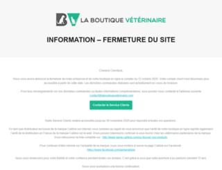 laboutiqueveterinaire.com screenshot