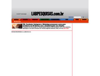 labpesquisas.com.br screenshot