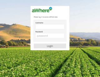 labs.awhere.com screenshot