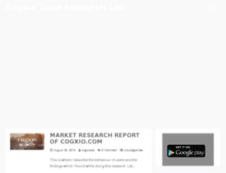 labs.cogxio.com screenshot