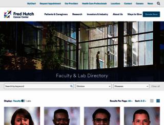 labs.fhcrc.org screenshot