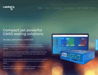 labsat.co.uk screenshot