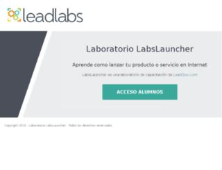 labslauncher.com screenshot