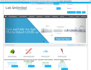 labunlimited.co.uk screenshot