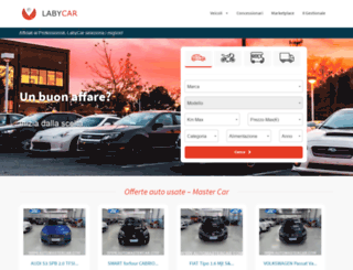 labycar.com screenshot