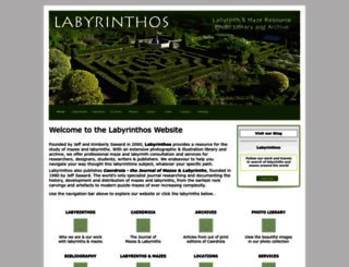 labyrinthos.net screenshot