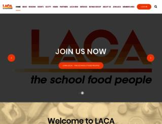 laca.co.uk screenshot