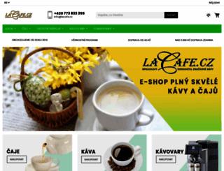 lacafe.cz screenshot