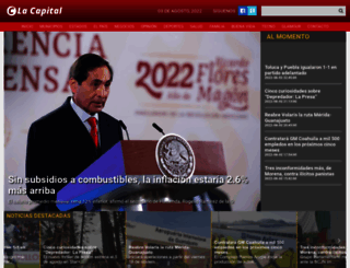 lacapital.com.mx screenshot