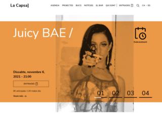 lacapsa.org screenshot