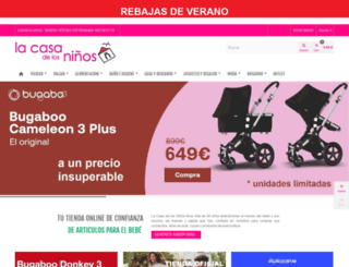 lacasadelosninos.es screenshot