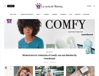 lacasitademartina.com screenshot
