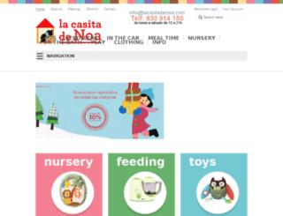 lacasitadenoa.com screenshot