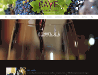lacavedupaysdauge.fr screenshot