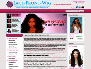 lace-front-wig.com screenshot