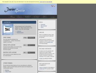 lacenenta.javier-garcia.com screenshot