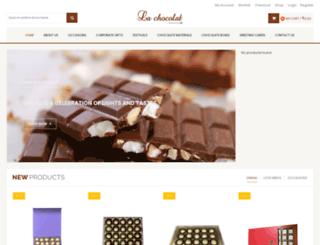 lachocolat.in screenshot