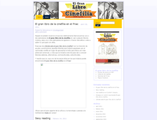 lacinefilia.wordpress.com screenshot