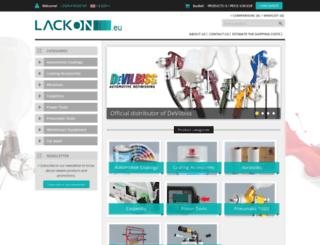 lackon.eu screenshot