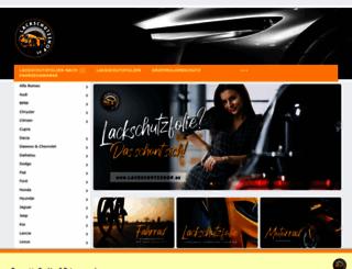 lackschutzshop.de screenshot
