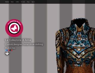 lacollezionedianna.com screenshot