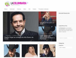 lacolumnariablog.com screenshot