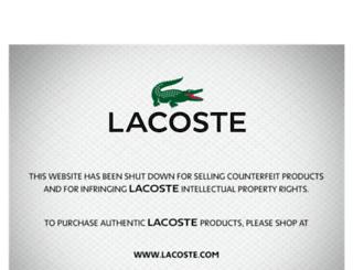 lacostetrainerssale.org screenshot