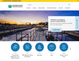 lacsd.org screenshot