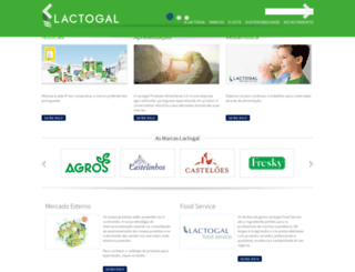 lactogal.pt screenshot