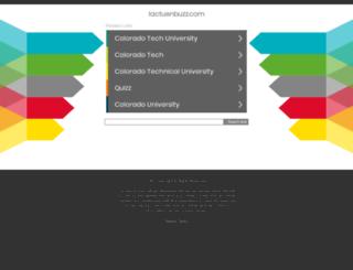 lactuenbuzz.com screenshot