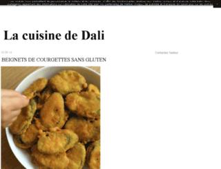 lacuisinededali.canalblog.com screenshot