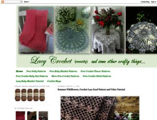 lacycrochet.blogspot.com.br screenshot