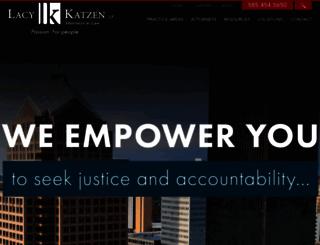 lacykatzen.com screenshot
