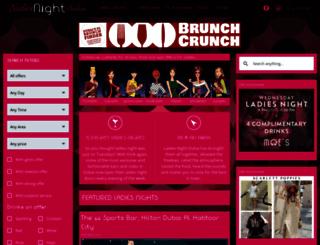 ladiesnightdubai.com screenshot